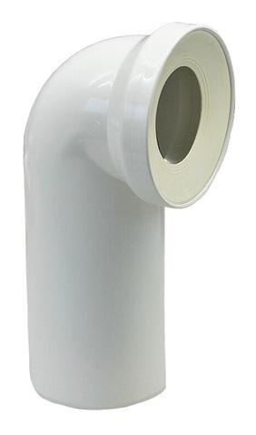 Rehau Raupiano Plus 110/90° отвод для присоединения выпуска унитаза (11216241001)