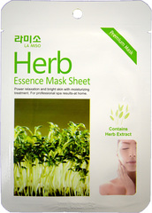 Успокаивающая маска с экстрактом лечебных трав La Miso