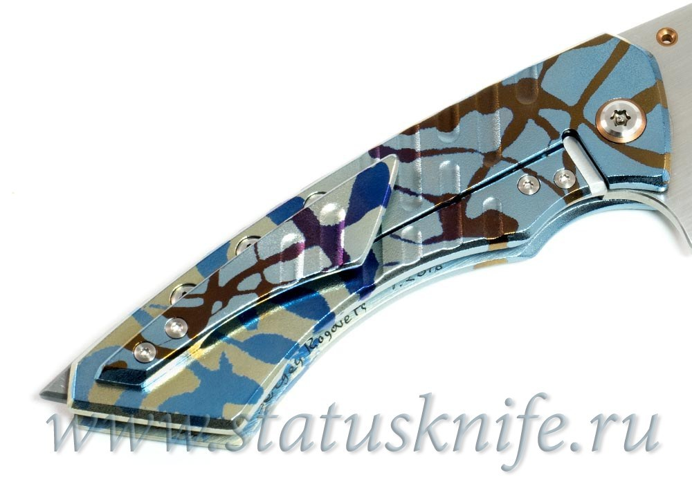 Нож Model15 Sergey Rogovets (SRMetalworks) - фотография