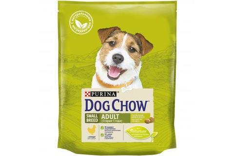 Сухой корм Purina Dog Chow для взрослых собак мелких пород, курица
