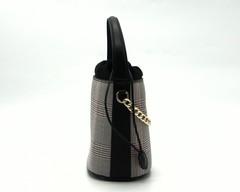Жесткая сумка из комбинированных материалов