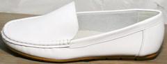 Мокасины туфли женские AESD 902 White