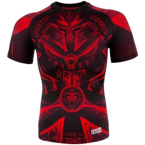 Рашгард Venum Gladiator 3.0 ShortSleeves Black/Red