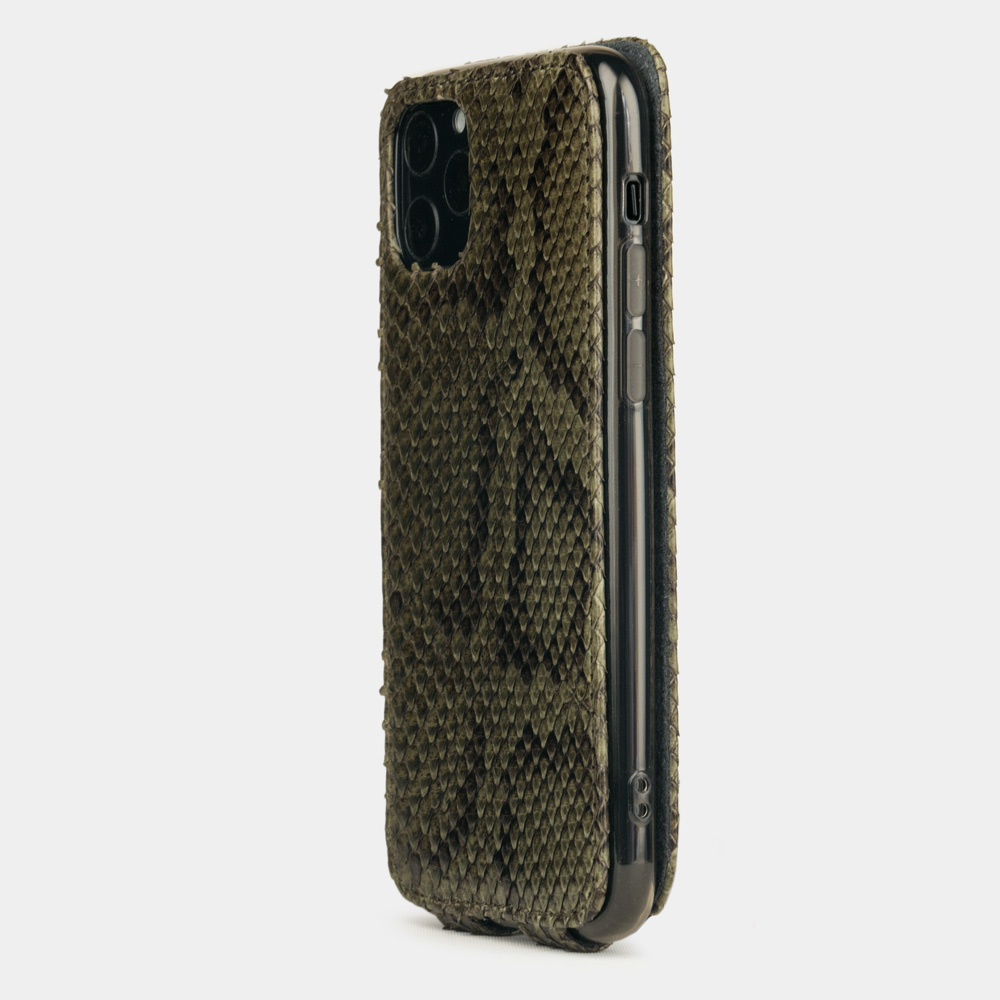 Case for iPhone 11 Pro Max - python green