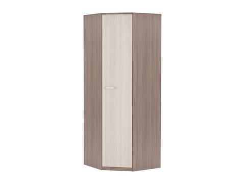 Шкаф угловой Марта ШК-114 бельевой Браво Мебель ясень шимо темный, светлый