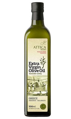 Оливковое масло первого холодного отжима Attica Food 500 мл