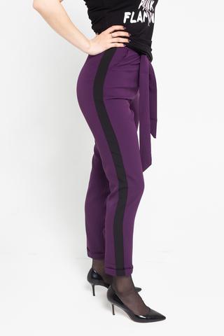 Брючный костюм женский сиреневого цвета надя