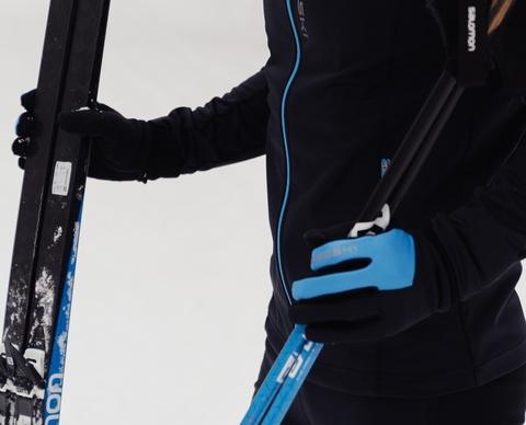 Лыжные перчатки Nordski Arctic Black/Blue