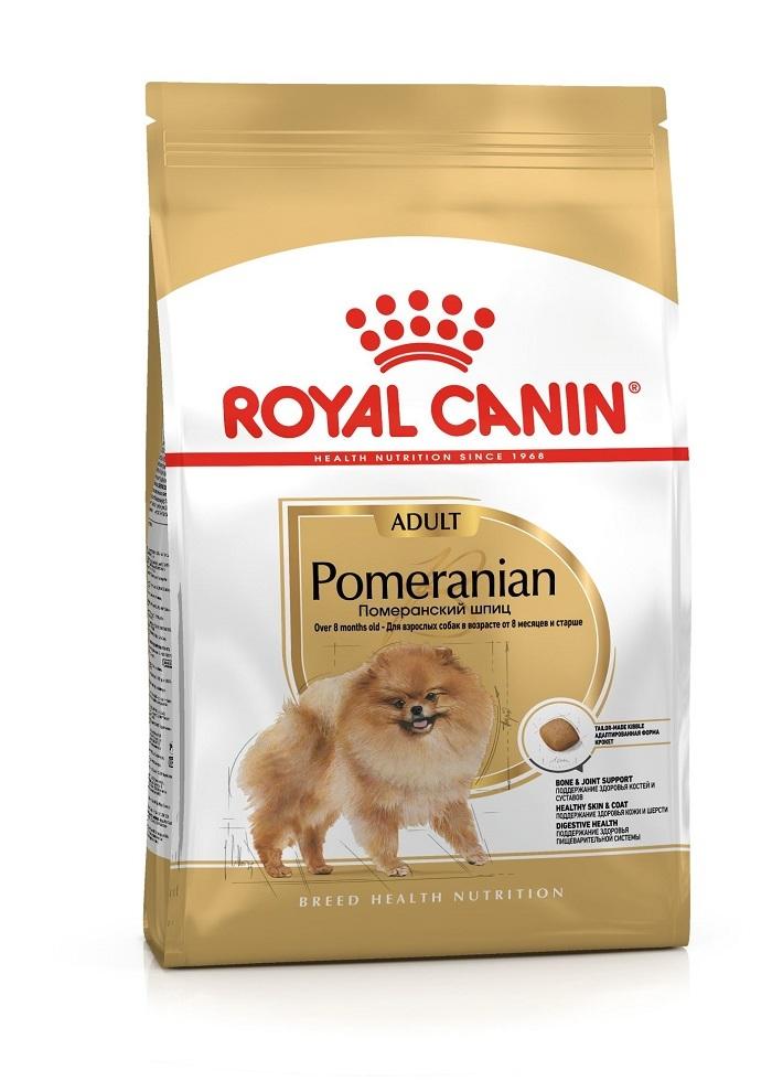 Royal Canin Корм для взрослых собак породы померанский шпиц, Royal Canin Pomeraniun Adult Померанский_шпиц_сухой.jpg