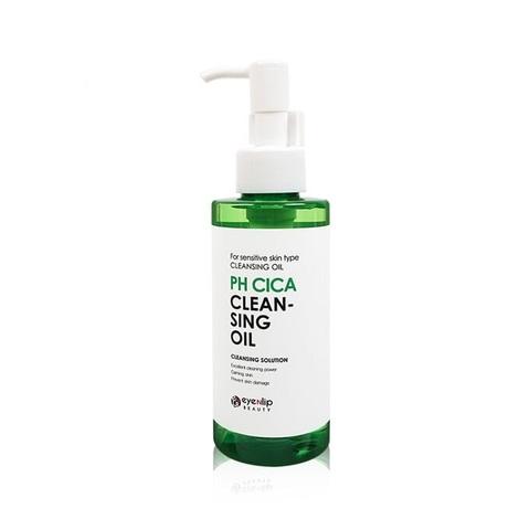 Eyenlip PH Cica Cleansing Oil гидрофильное масло гипоаллергенное с центеллой для чувствительной кожи