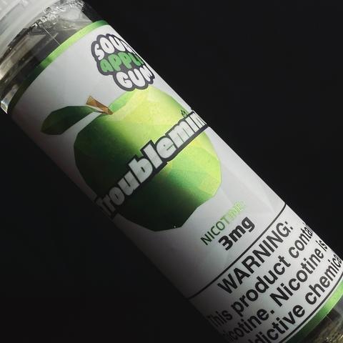 Troublemint Sour Apple Gum