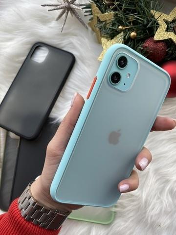 Чехол iPhone 12 Pro /6,1''/ Gingle series /sea red/