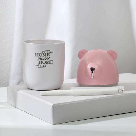 Увлажнитель воздуха Home sweet home, розовый, 7,2 х 13,5 см