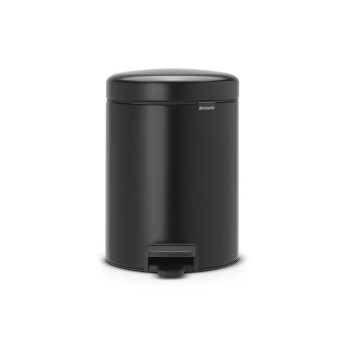 Мусорный бак newicon (5 л), Черный матовый, арт. 112928 - фото 1