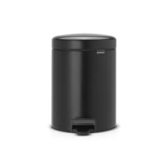 Мусорный бак newicon (5 л), Черный матовый