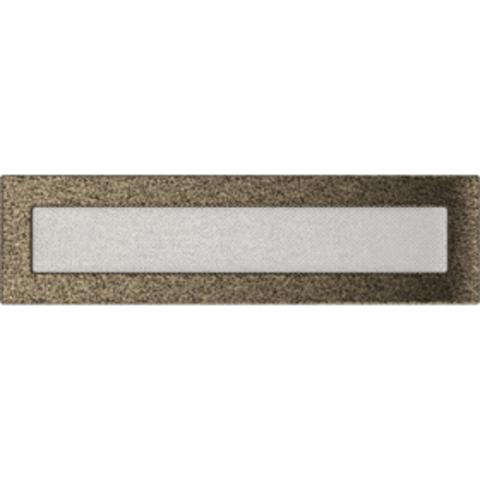 Вентиляционная решетка Черная/Золото (11*42) 42CZ
