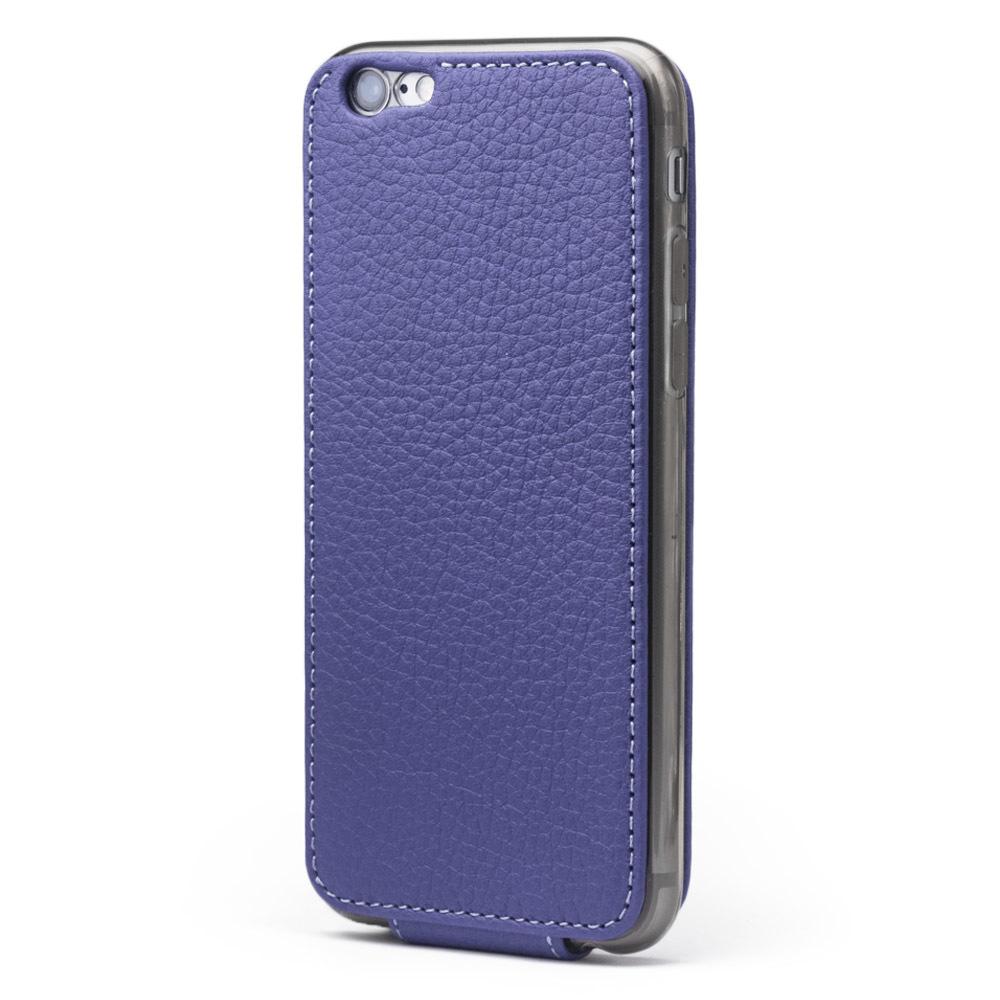 Чехол для iPhone 6/6S из натуральной кожи теленка, цвета сирени