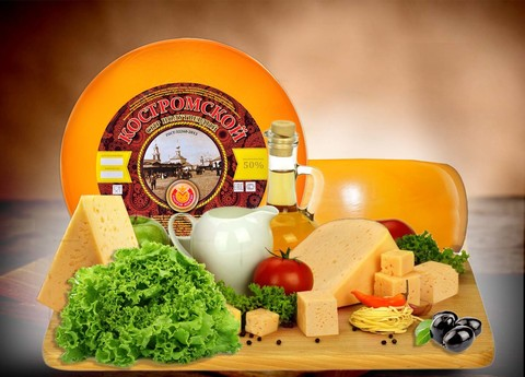 Сыр Костромской  СЫРЫ И КОЛБАСЫ ИП ПОТАПОВА 1кг