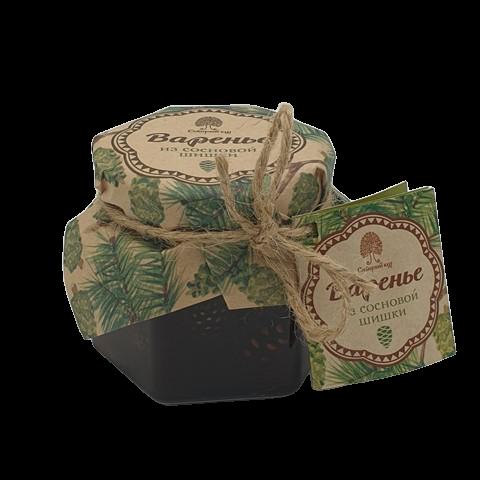 Варенье из сосновой шишки СИБИРСКИЙ КЕДР, 100 гр