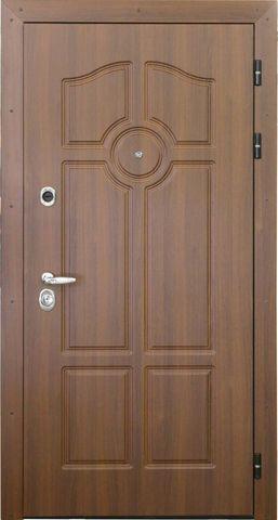 Дверь входная Интекрон Олимпия стальная, белый ясень, 2 замка