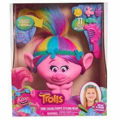Trolls Голова для причёсок Поппи Тролли