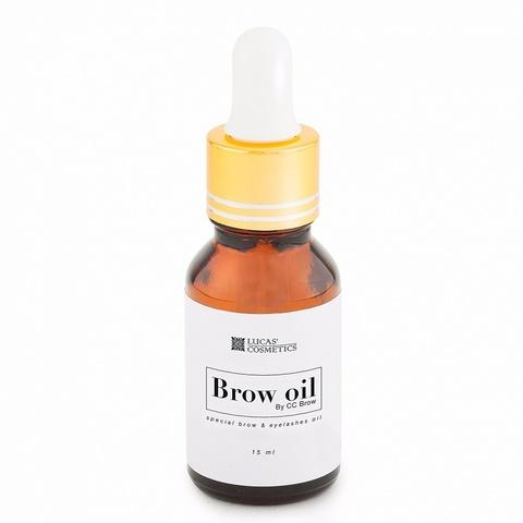 Масло CC Brow, Brow oil для бровей и ресниц, 15 мл
