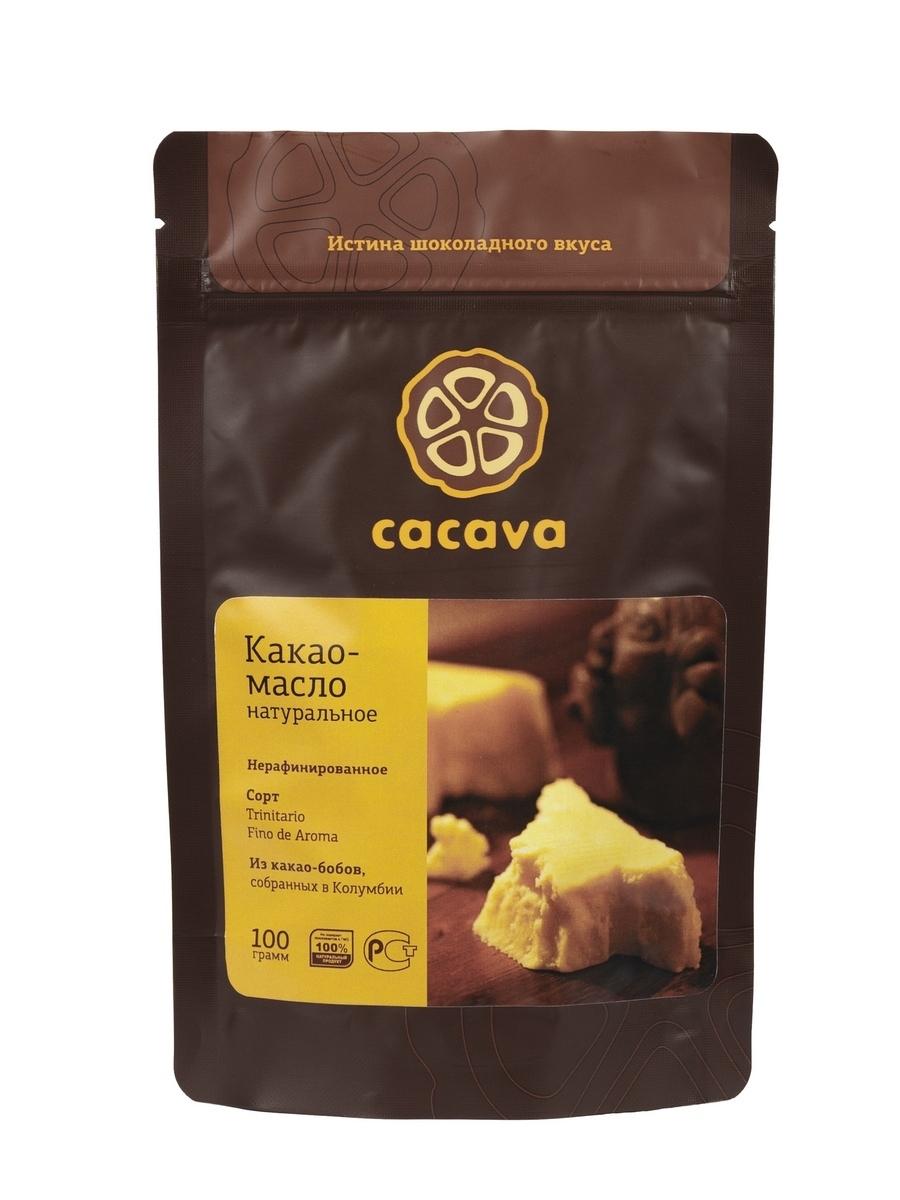 Какао-масло натуральное нерафинированное (Колумбия), упаковка 100 грамм