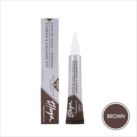 Brown (коричневый) • THUYA • краска для бровей