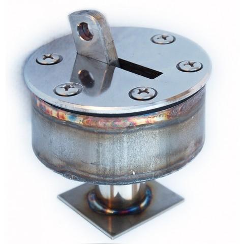Анкерное крепление AISI-316 с выдвижным крюком для разд дорожек в пленочный бассейн001-0005/001-0039