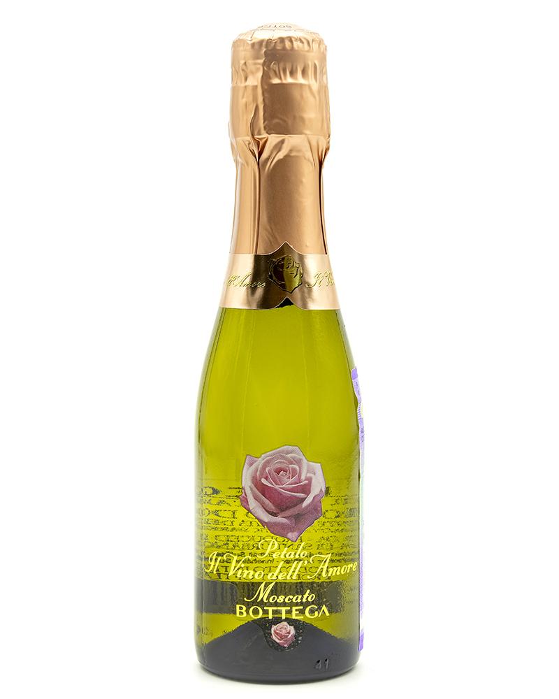Вино Bottega Белое Игристое Cладкое Петало Москато 6,5%, 0,2л.
