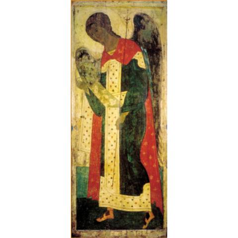 Икона Архангел Гавриил Андрея Рублева на дереве на левкасе мастерская Иконный Дом