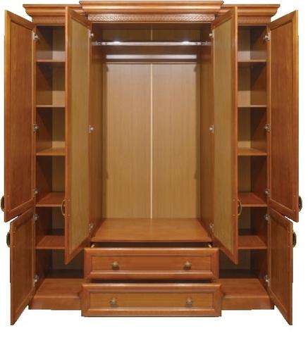 Шкаф 4 дв. Олимпия