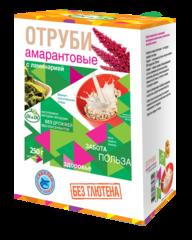 Отруби амарантовые, Di&Di, С гречей, 250 г