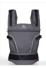 Слинг-рюкзак manduca PureCotton dark grey (серый) NEW