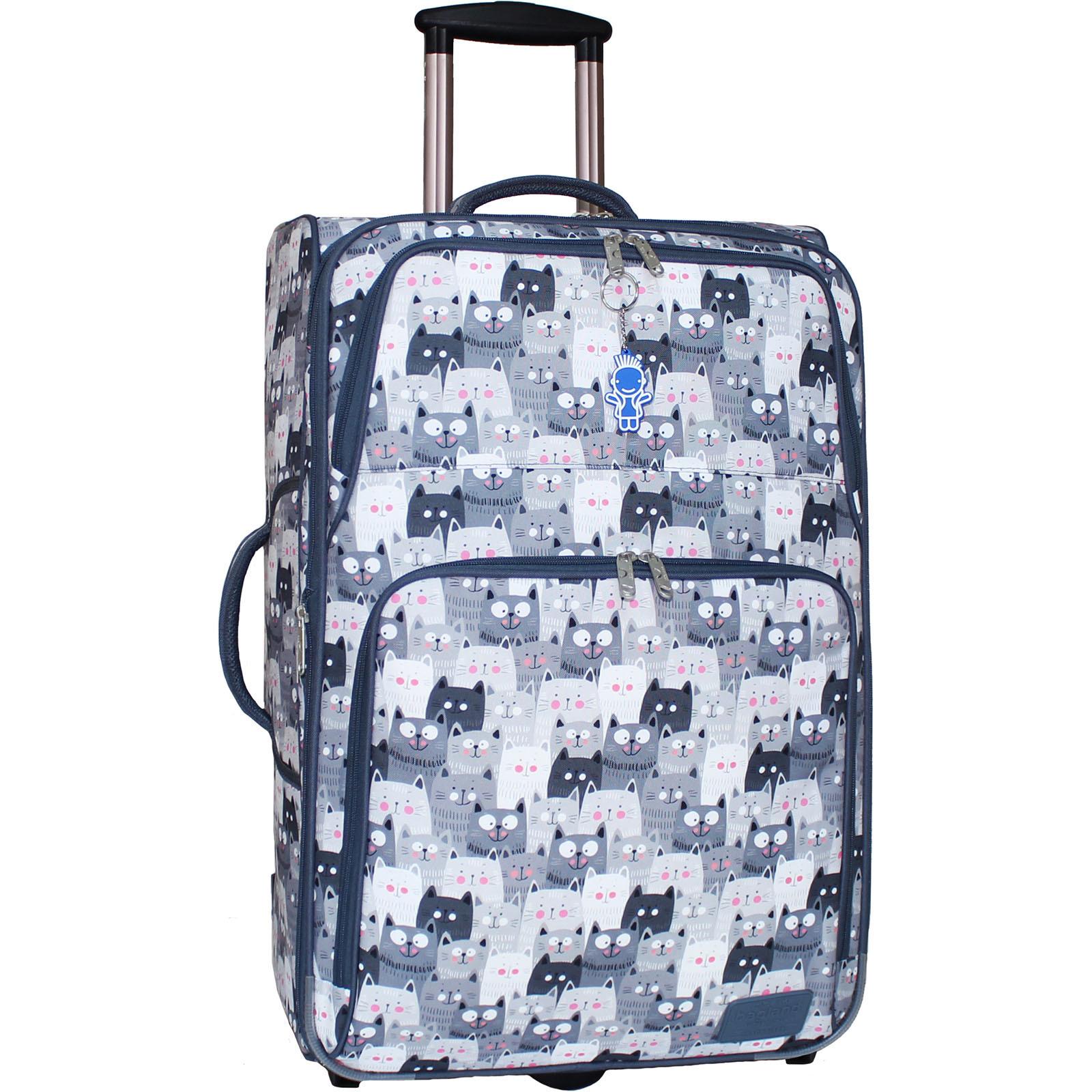 Дорожные чемоданы Чемодан Bagland Леон большой дизайн 70 л. сублимация (342) (0037666274) IMG_8437_арт342_.JPG