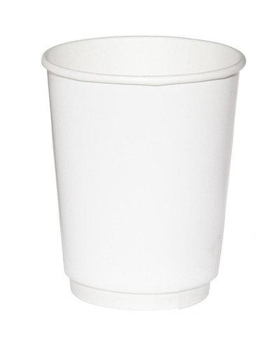 Стакан одноразовый 300/355мл белый SP12 1 сл.гор.напитков