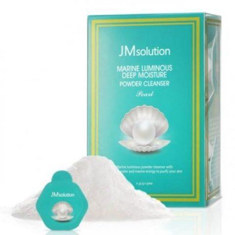 JMsolution Marine Luminous Deep Moisture Powder Cleanser Pearl увлажняющая энзимная пудра для умывания с жемчугом