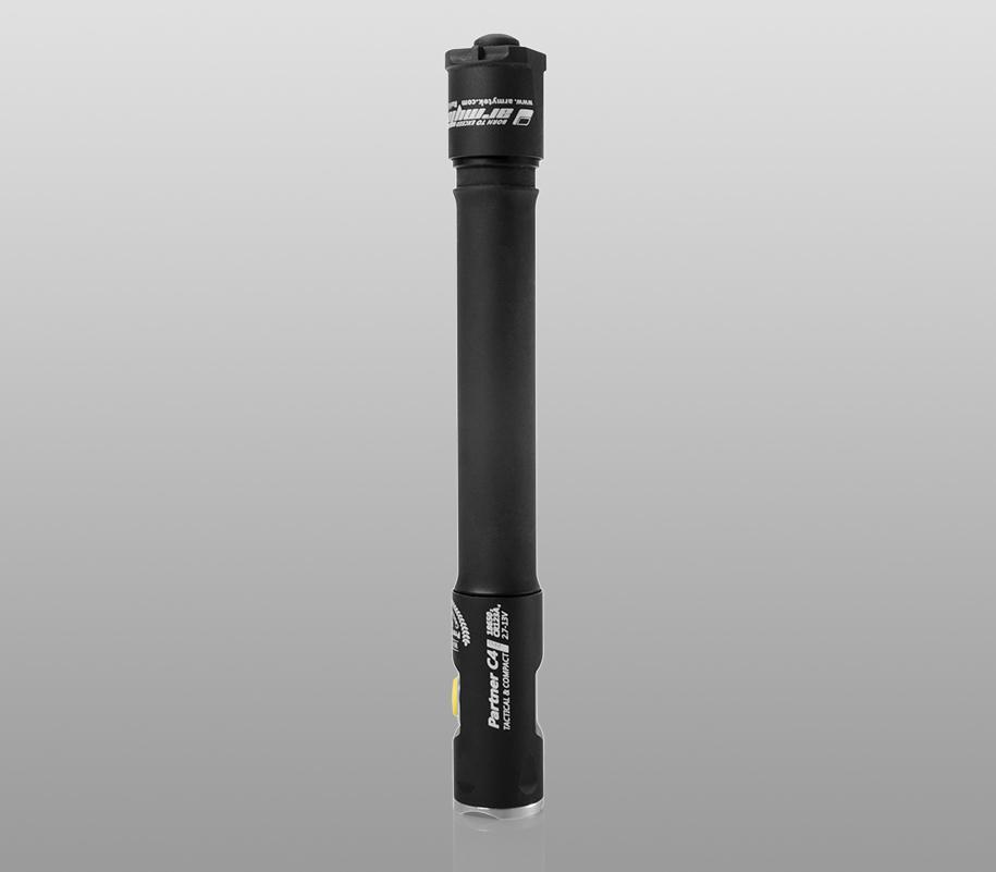 Тактический фонарь Armytek Partner C4 Pro (тёплый свет) - фото 6