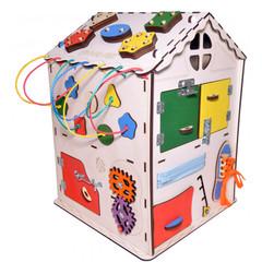 БОЛЬШОЙ ДОМ Счастливый ребёнок с магнитной доской со светом и разноцветными детальками. Размер 35 35 50 см.