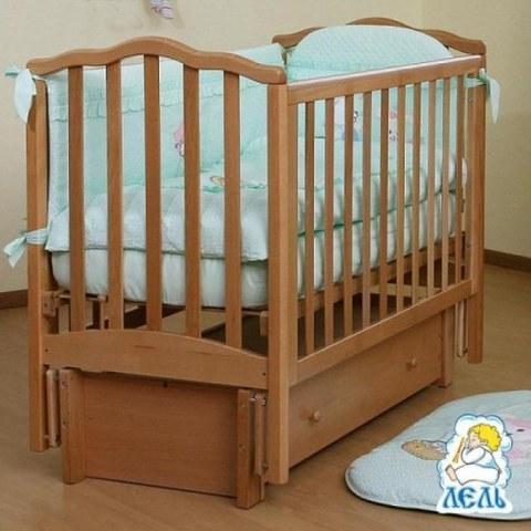 Кровать Лель АБ 19.3 Жасмин натуральный