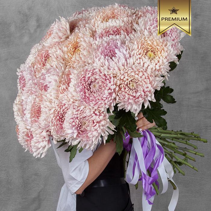 Купить букет 35 хризантем Holiday в Перми