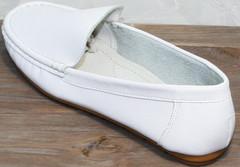 Туфли мокасины женские AESD 902 White