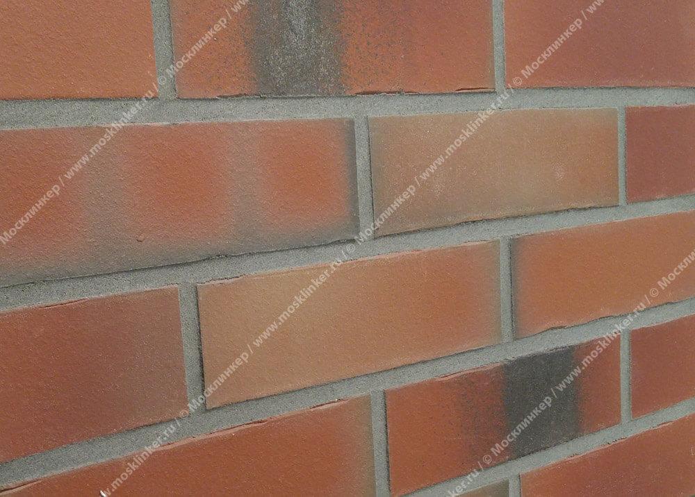 Feldhaus Klinker - R991NF14, Bacco Ardor Matiz, 240х71х14 - Клинкерная плитка для фасада и внутренней отделки
