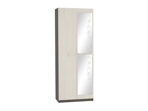 Шкаф двухстворчатый Марта ШК-116 платяной Браво Мебель венге, дуб белфорд