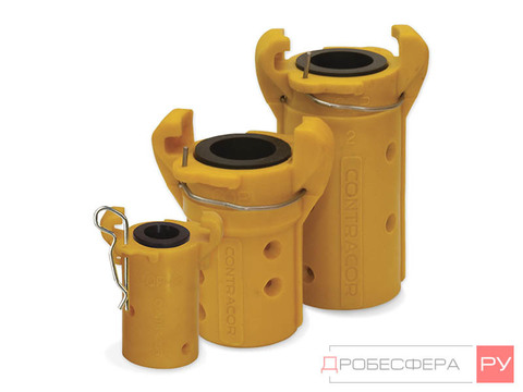 Сцепление для пескоструйных рукавов 25х39 мм CQP-1 пластик