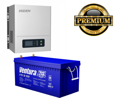 Комплект ИБП HPS20-1012N-VTG200 (12в, 1000Вт)