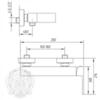 Смеситель для душа Migliore Kvant ML.KVT-2739 схема