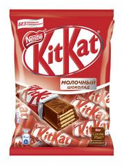 "Конфеты ""Kit Kat"" молочные с хрустящей вафлей, 169 г"