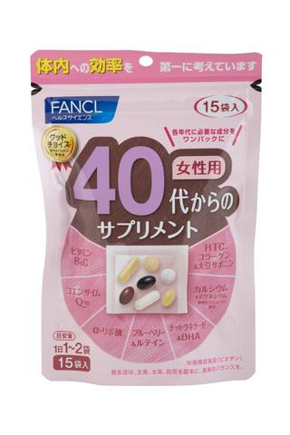 Fancl Комплексные витамины для женщин 40+