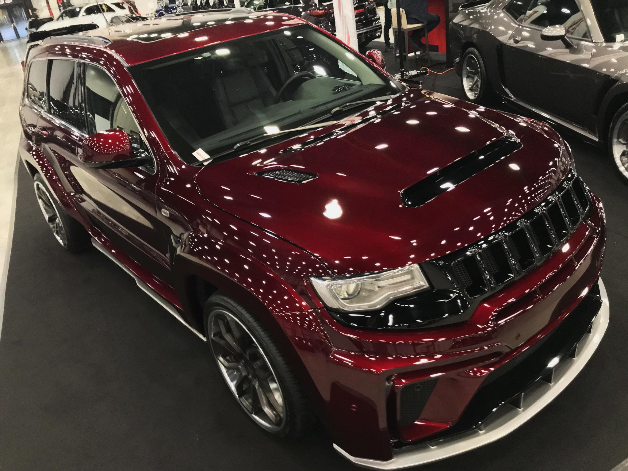 Обвес SCL PERFORMANCE Titan  для Jeep Grand Cherokee